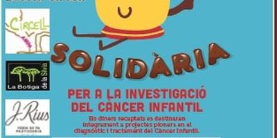 El proper divendres 15 de febrer es fa a l'escola Circell de Moja una Xocolatada Solidària per a la investigació del càncer infantil