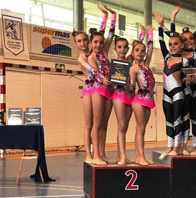 Els  3 podis a Vilanova del Camí s'afegeixen a l'excel•lent temporada del Rítmica Olèrdola