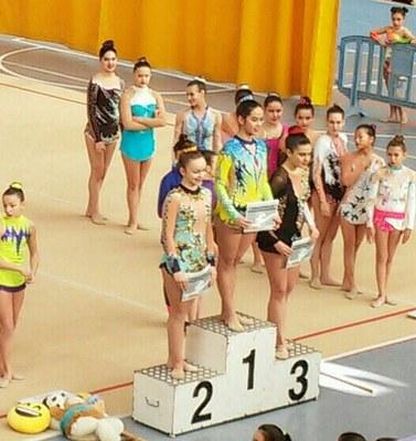 El Rítmica Olèrdola triomfa en la segona jornada dels campionats escolars