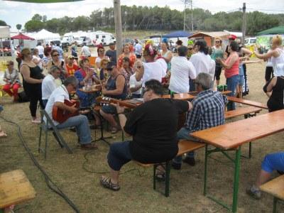 El Rocio d'Olèrdola referma la seva aposta per l'ambient de romeria