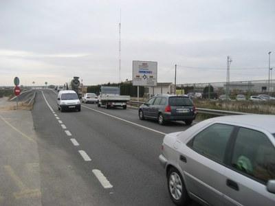 El segon carril per unir la N340 amb la C15, al polígon de Sant Pere Molanta, ja té projecte