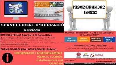 El Servei Local d'Ocupació a Olèrdola facilita assessorament per cercar feina o millorar-la