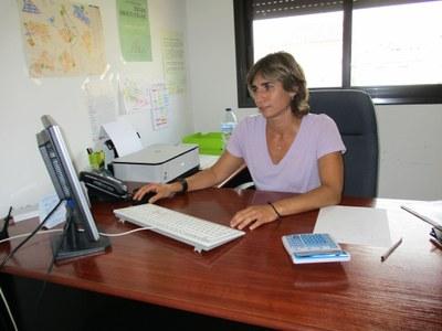 Carlota Julià, tècnica responsable del Servei Local d'Ocupació