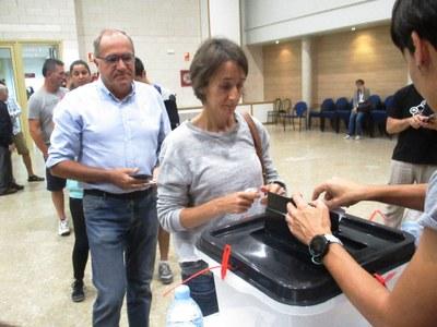 El Sí guanya a Olèrdola amb el 93% dels vots emesos