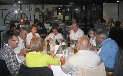 El sopar de regidors i d'exregidors d'Olèrdola ha donat el tret de sortida a la Trobada