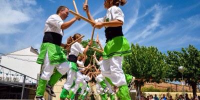 El Toc d'Olèrdola participa aquest dissabte a Gavà en la 44a Trobada Nacional de Bastoners