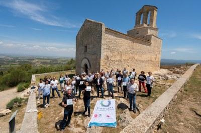 El turisme de qualitat de la comarca es dóna cita a Olèrdola en l'acte de lliurament dels distintius Biosphere