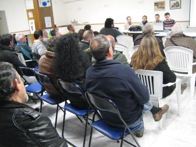 La reunió informativa es feia divendres, al Local Social