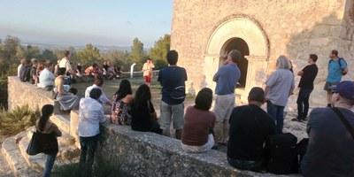 """Els """"Vespres d'estiu al castell d'Olèrdola"""" han captivat a 600 persones"""