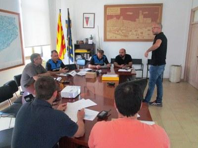 Els agents d'Olèrdola s'integren en la xarxa Rescat de radiocomunicacions