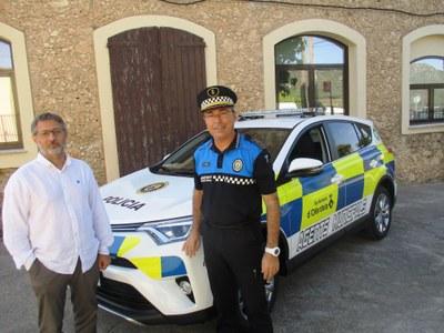 Els agents municipals d'Olèrdola estrenen un nou vehicle híbrid