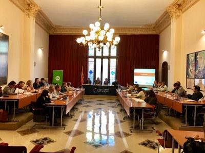 Els ajuntaments inclosos dins l'ajut FEDER celebren la primera reunió de treball al Consell Comarcal