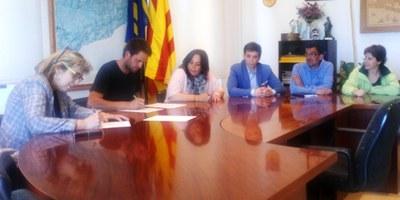 """Els  candidats a l'alcaldia d'Olèrdola es comprometen a recuperar """"de manera immediata"""" la jornada de 35 hores a l'Ajuntament"""