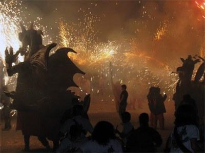 Un Correfoc memorable va ser el del 30è aniversari (foto: Diables Moja)