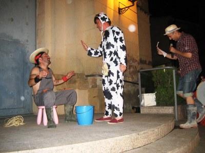Els Diables de Moja aporten espectacle pirotècnic de qualitat i sàtira irreverent per Festa Major