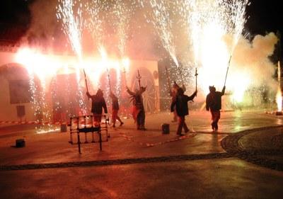 Els Diables de Moja preparen el seu 35è aniversari