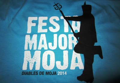 Els Diables de Moja venen més de 200 samarretes durant la Capta