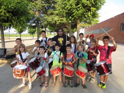 Els Diables Petits de Moja preparen la Festa Major després d'incorporar 10 nous components
