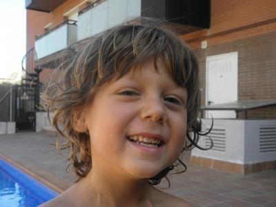 Ian Garcia, el nen de Sant Sadurní que lluita contra el càncer