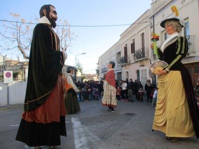 Els gegants de Moja participen dissabte en la Trobada Gegantera de la FM de Sant Boi de Llobregat