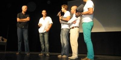 Els germans Josep i Jordi Arnan exhibeixen orgull de poble i fan un al·legat a favor de l'amistat en el pregó de la Festa Major de Moja