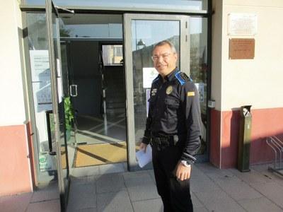 Josep Miquel Escofet, cap dels guàrdies municipals