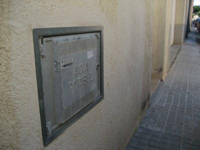 Els Mossos d'Esquadra recuperen les tapes robades a Moja de comptadors d'aigua