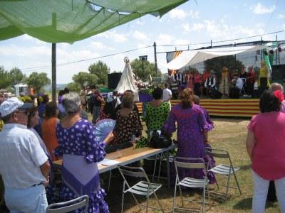Els organitzadors calculen que a la Festa de la Romeria del Rocio van assistir un miler de persones