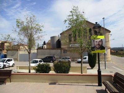 Els primers dies de campanya només eren visibles a Olèrdola cartells d'ERC