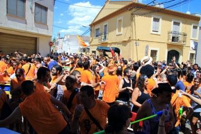 Moment de la Timbarada Foto: Josep Lluís Acedo