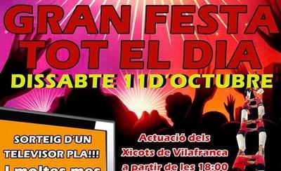 Els Xicots de Vilafranca actuaran dissabte en la festa d'aniversari de Cash Segona Mà