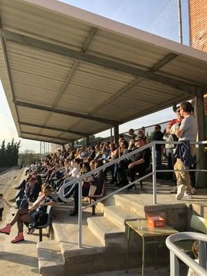 Empat al derbi penedesenc de la Tercera Catalana entre Moja i Riudebitlles