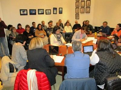 El govern informava dels processos de participació durant el ple d'aquest dimarts