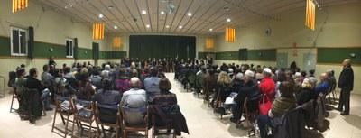 Enèrgic concert de Nadal de l'Alt Penedès a Sant Pere Molanta amb Essència de Gospel