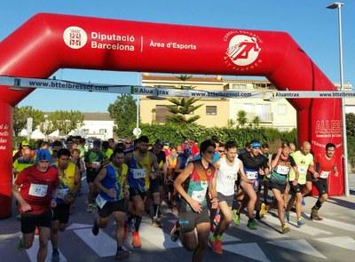 Enric Garcia i Núria Quiroga guanyen la 18a cursa de muntanya Castell d'Olèrdola