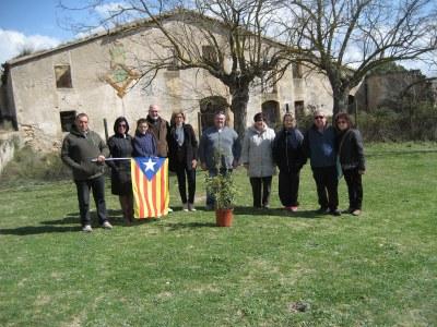 ERC commemora la visita de Francesc Macià a la Muntanyeta