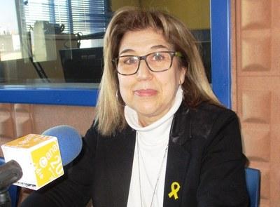 Fina Mascaró, regidora portaveu del grup municipal d'ERC i candidata a l'alcaldia