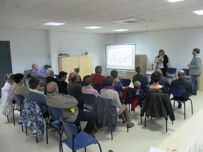 Imatge de l'acte d'ERC a Sant Pere Molanta aquest  divendres
