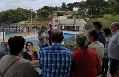 Imatge de l'acte d'ERC a Daltmar, aquest dissabte