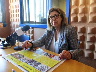Fina Mascaró, candidata a l'alcaldia encapçalant la llista d'ERC