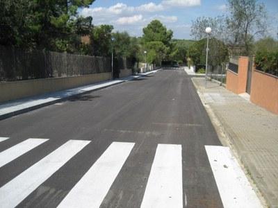 Es certifica que les obres del carrer Major s'han completat a un cost inferior del previst