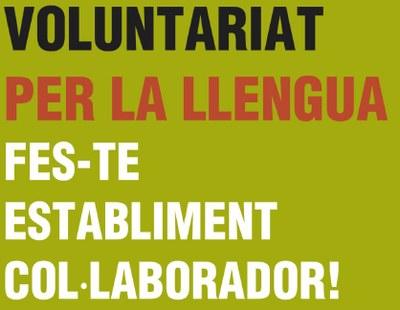 Campanya a Olèrdola per captar establiments col·laboradors amb el Voluntariat per la Llengua