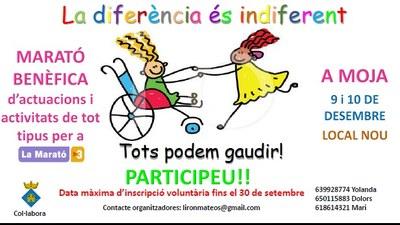 Es prepara a Olèrdola una gran marató d'actuacions solidàries oberta a tothom