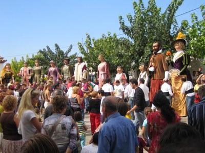 Els gegants de Moja es van presentar el setembre de 2006
