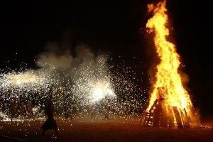 Es prepara la Revetlla de Sant Joan a Olèrdola amb la recepció de la Flama del Canigó