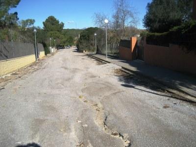 Es preveu que la setmana que ve comencin les obres per completar la urbanització del carrer Major