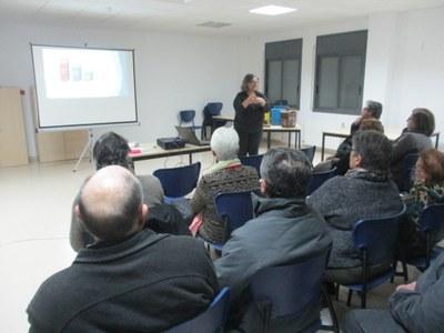 """La tercera xerrada de la campanya """"Olèrdola recicla"""" es feia aquest dimarts a Sant Pere"""