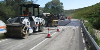 Es repara el paviment del camí que uneix Moja i Daltmar