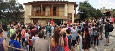 Estrena exitosa del primer dels Vespres al castell d'Olèrdola, amb la participació de 231 persones