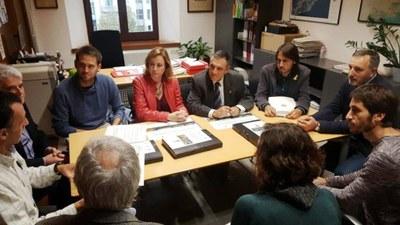 Estudi per enllaçar els Monjos, Olèrdola i Vilafranca amb carril de vianants i bicicletes